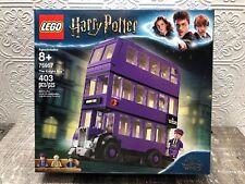 Lego Harry Potter The Knight Bus Set (75957) New 403 Pcs + Free Shipping