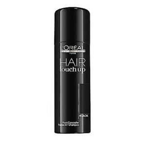 NEW, L'Oreal Professional Hair Touch Up Root Concealer Black 75ml