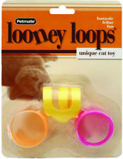 Fat Cat Looney-Loops Looney Loops Tubes Fourfous Cat Toy  (Free Shipping)