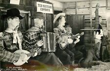 Wall~Ted Hustead's Wall Drug Store~Life Size Animated Cowboy Orchestra~1950 RPPC