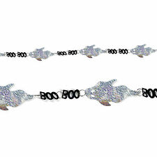 Ghost 'Boo' Laser Garland Halloween Party Decoration - 2 meters