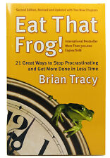 Eat That Frog! by Brian Tracy Paperback 2006 2nd Edition Procrastination NEW