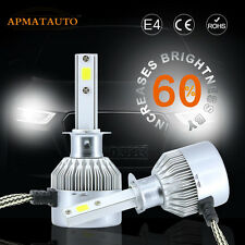 1x H4 9003 HB3  Car Motorcycle 10000LM CREE LED HeadLight High Low Beam Bulbs