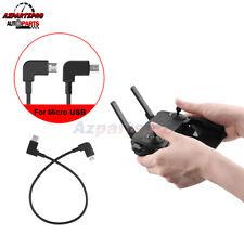 OTG Micro USB Cable Data Cord for DJI Mavic 2 Zoom/Pro Remote Controller Android