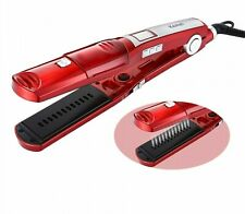 Hair Straightener Steampod Electric Brush Irons Ceramic Portable Styling Tool