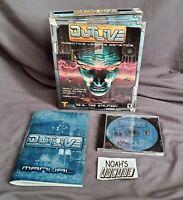 Outlive: Robotics Versus Genetics Original RTS PC Big Box Game - Very Rare