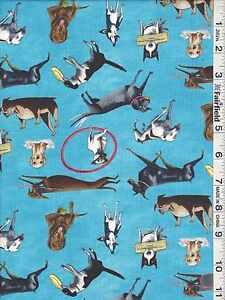 Dogs Rule Coordinating Fabrics by Elizabeth's Studio bty SOLD SEPARATELY