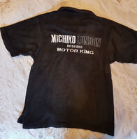 Men's Michiko Koshino Black XL Top - Vintage Rare and in VGC