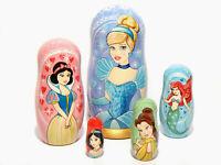 Princess Nesting Dolls, Matryoshka 6,2 in.