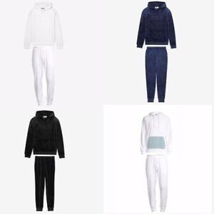 Fila Men's Velour Sweatsuit Hoodie Vintage Tracksuit Colors Options M L XL XXL