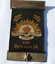 Australian WW1 Mothers and Widows Ribbon