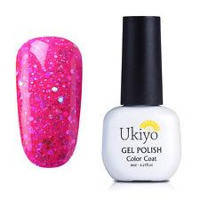 Ukiyo 8ML Soak Off UV Gel UV Gel Polish Top Base Coat Nail Art   707 ide