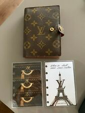 Louis Vuitton (PM) Agenda Small Rings Planner Cover and Dashboards