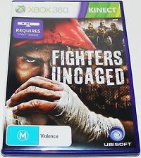 FIGHTERS UNCAGED-- (Xbox 360)