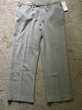 NWT! Perry Ellis Men's Pants Dress Pants Corduroy Flat Front SZ 36 X 32 Tan New!