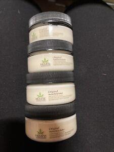 Hempz Lot Of 4 Hempz Original Herbal Body Butter Travel 1.5 Oz