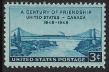 Scott 961- Century of Friendship, Us & Canada- 3c Mnh 1948- unused mint stamp