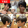 Brazilian Hair wigs Pixie Cut Straight Human Hair Wigs Cheap Wig for Black Women