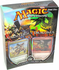 Knights vs. Dragons Duel Deck (SPANISH) FACTORY SEALED BRAND NEW MAGIC ABUGames