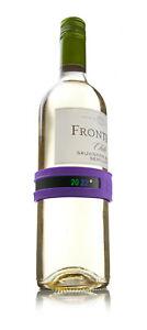 Weinthermometer Vacu Vin Flaschenthermometer Temperaturmesser f.Weinflaschen NEU