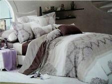 New Canterbury Dresden 100% Cotton Queen Size Quilt Doona Cover Set