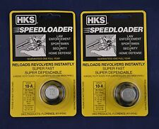 2 Pack HKS 10-A Speed Loader 38/357 Mag Fits S&W Taurus New In Package 10-A 2-PK
