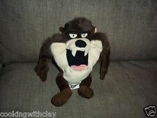 1998 Warner Brothers Studio Store Taz Large Mouth Beanbag Plush Doll Figure