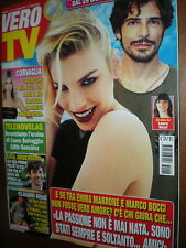 Vero Tv.EMMA MARRONE & MARCO BOCCI,LUCA ARGENTERO,EDITH GONZALEZ,,IRIAM CANDURRO