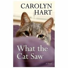 What the Cat Saw (Thorndike Press Large Print Mystery Series)-ExLibrary