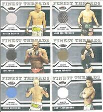 Scott Jorgensen 2011 Topps Finest UFC Finest Threads Fighter Relics Card # RSJ