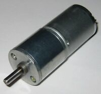 70 RPM 6 V DC Gearhead Hobby Motor - 750 g-cm Torque - Low Current - 3 to 6 VDC