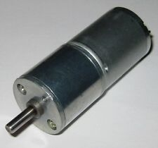 70 Rpm 6 V Dc Gearhead Hobby Motor 750 G Cm Torque Low Current 3 To 6 Vdc