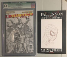 JUSTICE LEAGUE #1 1:200 Sketch Variant New 52 CGC 9.8 Signed By David Finch