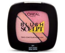L'OREAL Blush Sculpt Contouring Trio **Soft Rosy** #201 pink peach NEW!