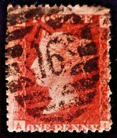 CatalinaStamps: Great Britain Stamp #33 Used Plate 74, SCV=$3, #A-2