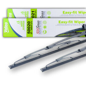 "NEW PAIR OF 20"" & 21"" OEM VALEO WIPER BLADES FITS FERRARI F355 1996-99 5139095AB"