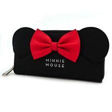 Loungefly x Disney Minnie Orecchie & Fiocco Topolino Portafoglio da Donna