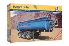 Italeri 3845 1/24 Scale Model Truck Kit Dumper Trailer
