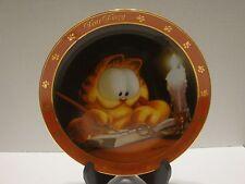 1990 Danbury Mint Garfield Collector Plate Dear Diary Series The Charming Cat