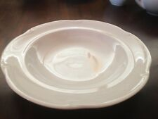 Priced To Sell! Flawless Christian Dior Provence Blanc Rimmed Soup/Pasta Bowls
