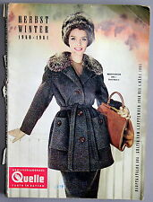 Quelle Katalog Herbst Winter 1960-1961 Versandhauskatalog # 490