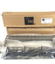 Complete ADC Krone 6653 1 585-48 48 Port CAT 5e Patch Panel W/Tie Bar, Etc UP