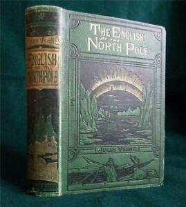 The English at the North Pole, Jules Verne, 1875 1st ed., Captain Hatteras
