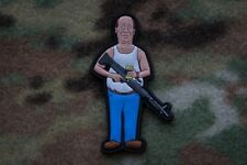 Bill Dauterive King Of The Hill 3D PVC Rubber Patch Moeguns Billdozer M60