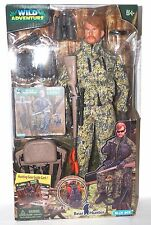 Wild Adventure Bear Hunter Action Figure With Accessories Blue Box