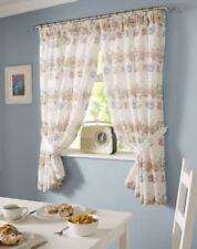 Rideaux et cantonnières fermes prêt à l'emploi en polyester pour la maison