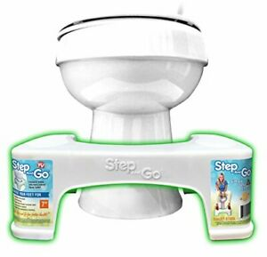 Toilet Squatty Step Stool Potty Squat Aid For Proper Toilet Posture Help Relief