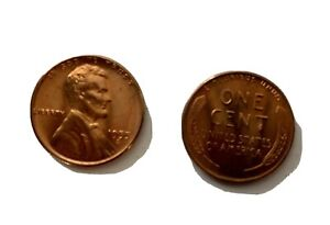 1955 S Lincoln Wheat Small Cents - 1 Roll