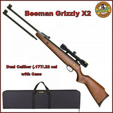 Beeman Grizzly X2 Dual Caliber (.177/.22 cal) Air Rifle Combo w/Case⭐⭐⭐⭐⭐