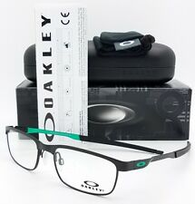 NEW Oakley OX3222 RX Steel Plate Frame St Black OX3222-0652 52mm Metal Rectangle